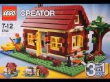 Собираем Lego Creator 5766 3 in 1 Log Cabin Первый домик - Стрим