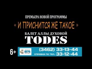 """ШОУ-БАЛЕТ """"Тодес"""" с юбилейной программой!"""