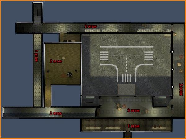 Карта de_118shkola для CS 1.6
