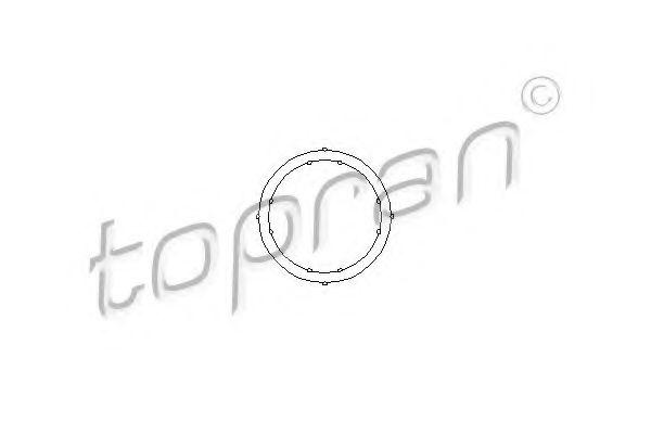 Уплотнительное кольцо; Уплотнительное кольцо, трубка охлаждающей жидкости для AUDI CABRIOLET (8G7, B4)