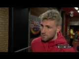 Luke Shaw talks to MUTV after a hard-fought win for MUFC