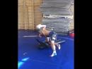 Тренировка бойца М-1 Андрея Селедцова