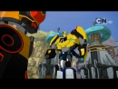 "Transformers: Robots In Disguise Combiner Force S03E13 ""The Fastest Bot Alive!"""