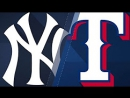 Condensed Game NYY@TEX 9⁄10⁄17