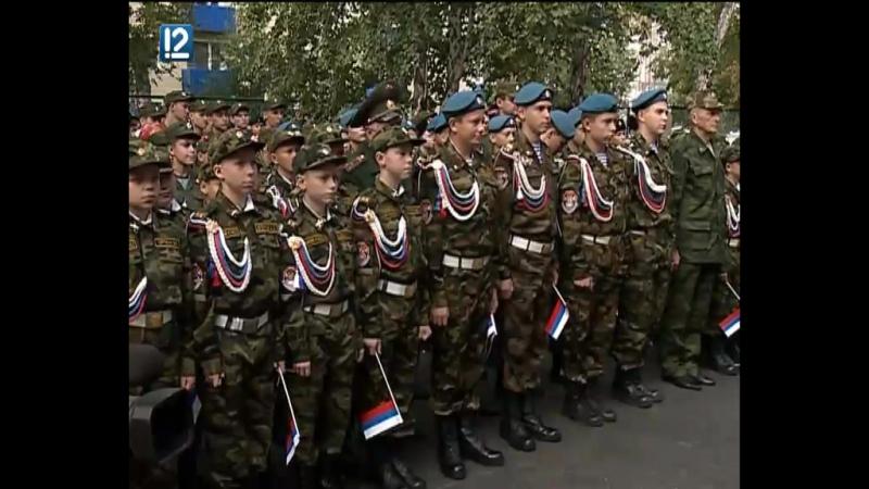 В Омске открыли бюст маршала Язова