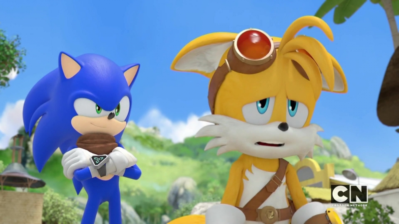 Sonic Boom S02E06 - Anything You Can Do, I Can Do Worse-er