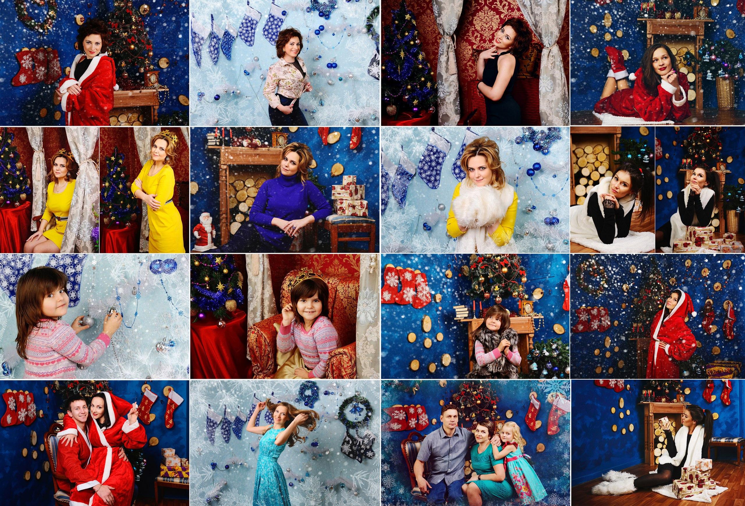 ПОДАРОЧНЫЙ СЕРТИФИКАТ на новогоднюю фотосессию в студии всего за 1500 руб!