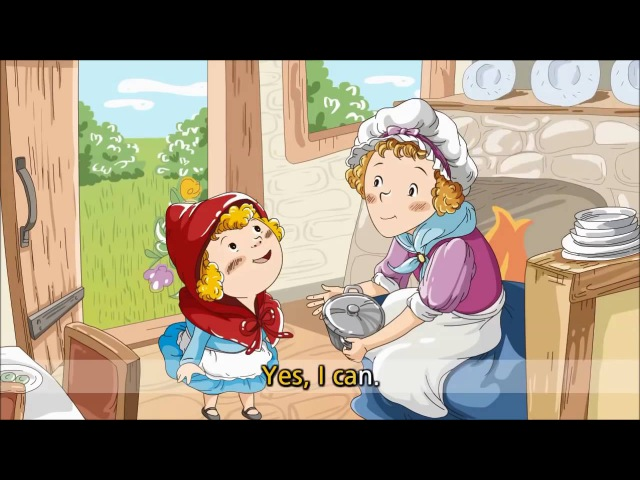 Little Red Riding Hood (English Subtitles)