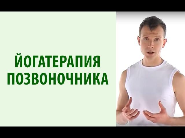 Йогатерапия с Вячеславом Смирновым Оздоровительный комплекс для позвоночника снятия напряжения