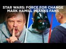Mark Hamill Pranks Star Wars Fans with Epic Surprise for Force For Change