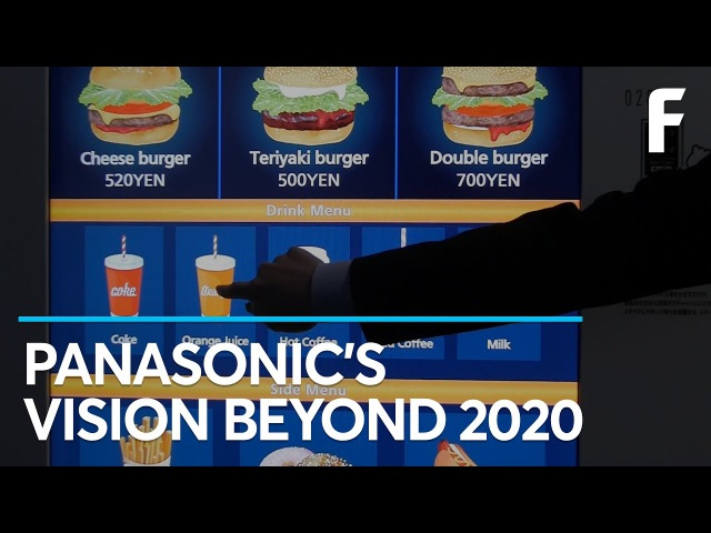 See Panasonic's Visions of the Future