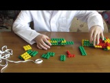 Собираем лук из конструктора Фанкластик набор Миникрафтика.