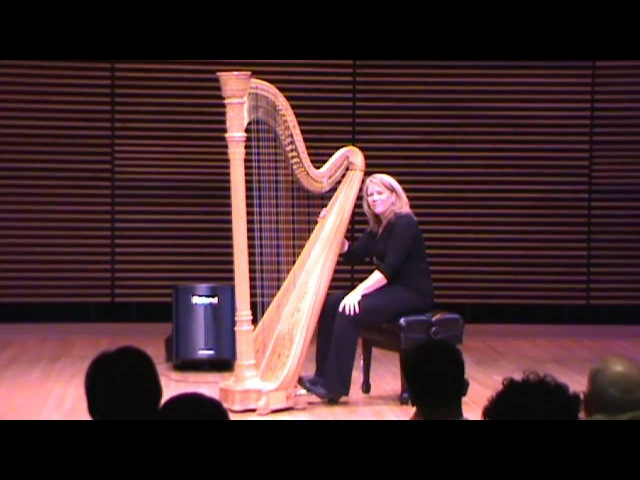 Jazz Harpist Lori Andrews plays Mornin (H) PCC