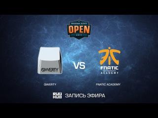 Qwerty vs fnatic academy - DreamHack ASTRO Open Leipzig - map1 - de_cache [CrystalMay, Enkanis]