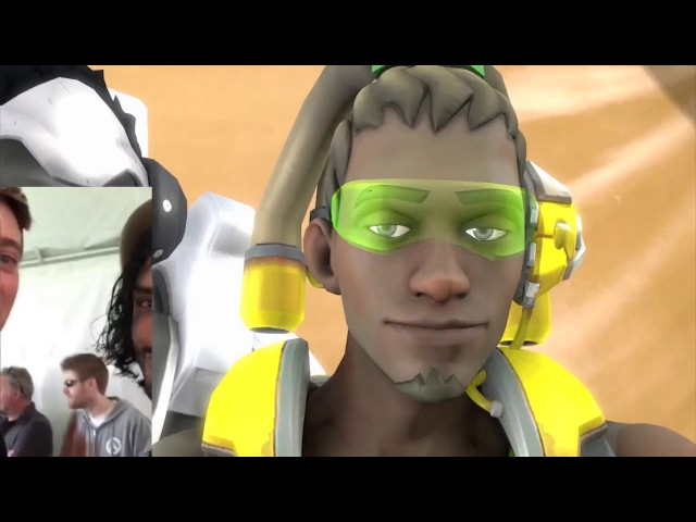 Lucio VA vs Animated Heroes @ Blizzcon