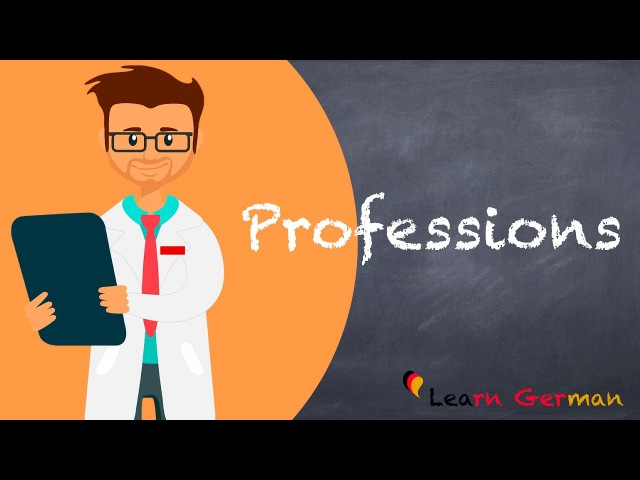 Learn German | German Vocabulary | Professions | Berufe