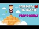 Пассивный заработок в Интернете на profit-hourly com Достойный платящий хайп