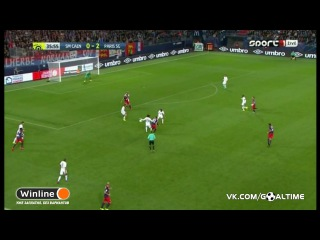 Кан - ПСЖ 0:6. Обзор матча. Чемпионат Франции 2016/17. 5 тур.