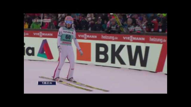Stefan Kraft Engelberg 2016 138m