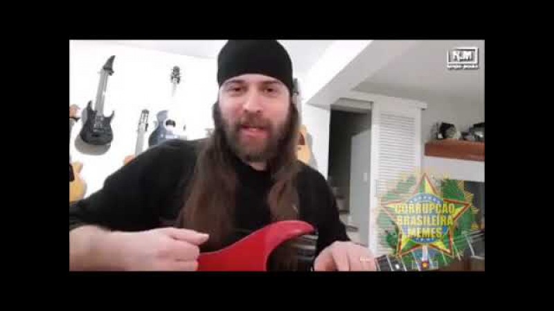 Nando Moura REFUTANDO Leon e Nilce do coisa de nerd ao som de guitarra humana