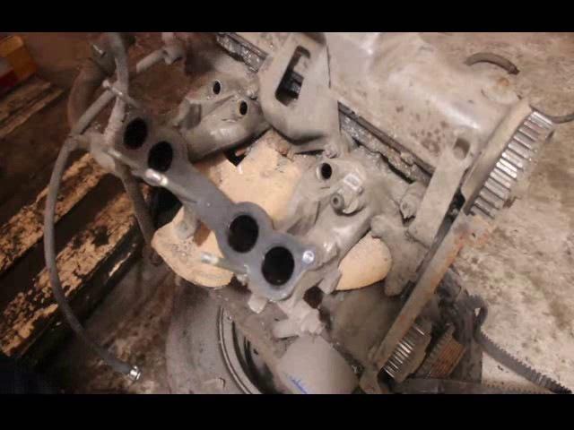 Пошаговая разборка Двигателя ВАЗ 8-клапанного. Своими руками.