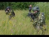 Российские Спецназовцы против банды Хаттаба.  Бой у