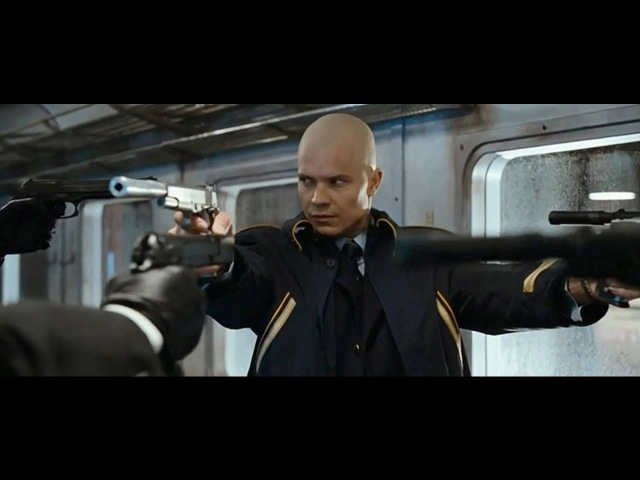 Hitman (2007)   Sword Fight Scene (Unrated Version)   HD