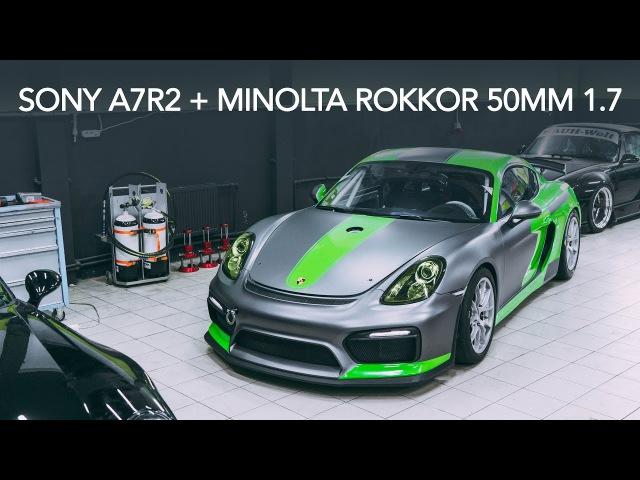 Sony A7R2 Minolta ROKKOR 50mm 1.7 Testing LUT color.