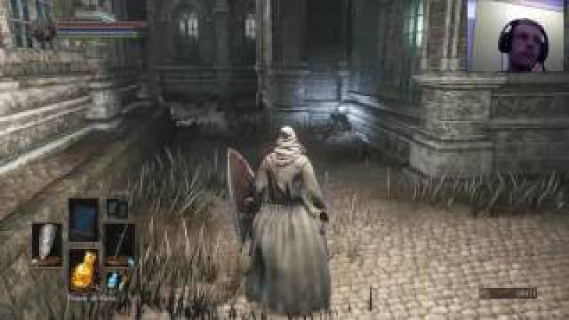 Dark Souls 3 Sorcerer Catacumbas de Carthus