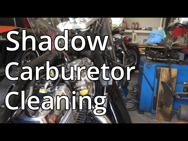 How To Clean Honda 750 Aero Carburetor Part 1