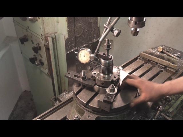 Ремонт деталюхи коробки автомат RAV4