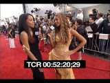 Aaliyah and Beyonce at the 2000 MTV Movie Awards