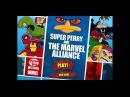 Первый взгляд на ИГРУ ПО СЕРИАЛУ ФИНЕС И ФЕРБ - Super Perry and The Marvel Alliance, онлайн флэш