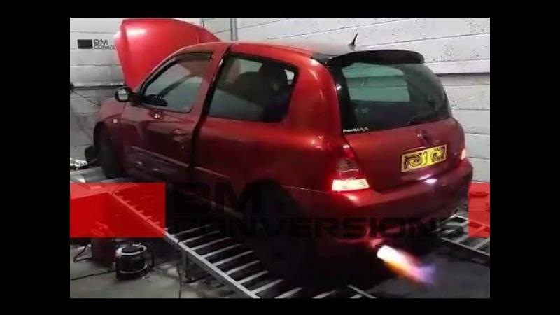 Renault Clio 172 - BMc crackle map development v3