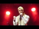 Mikelangelo Loconte - Le Trublion (Mozart l'Opera Rock, Saint-Pétersbourg, 15/03/2017)