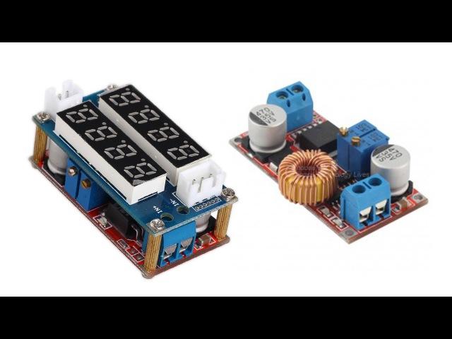 Цифровой стабилизатор или преобразователь напряжения и тока 5A