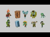 Character animation for games