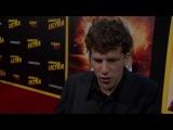 American Ultra_ Jesse Eisenberg Red Carpet Movie Premiere Interview