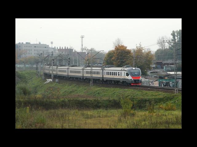 ЭП2Д 0008 на перегоне Москва-Товарная-Курская - Люблино Московской железной дороги.