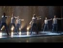 Искушение шоу под дождем в Бресте от театра танца из Питера