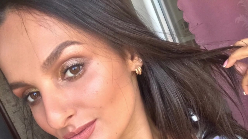 Летний / бронзовый экспресс макияж