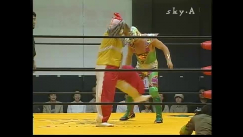 Ebessan vs. Super Delfin (Osaka Pro - Saturday Night Story 2004)
