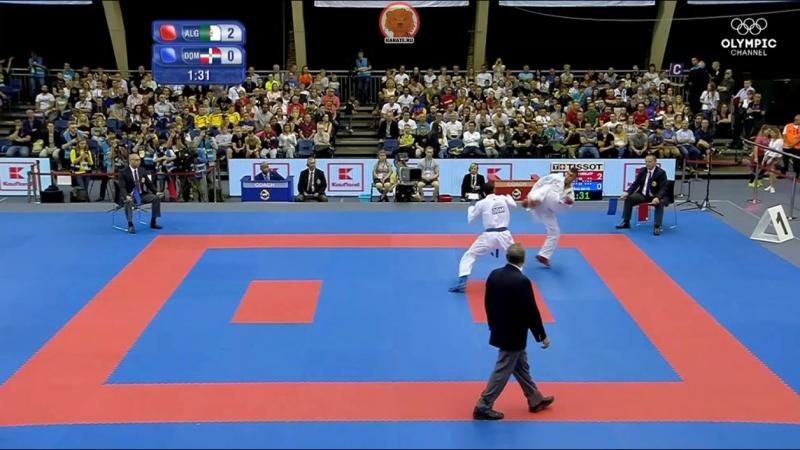 Абделатиф Бенкхалед - Дейвис Феррерас. Поединок за бронзу Всемирных Игр 2017 в кумитэ до 67 кг