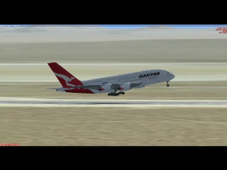A380-800 Landing (Edwards AP)