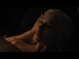 Игра престолов 7 сезон 7 серия Эмилия Кларк и Кит Харингтон Любовная сцена