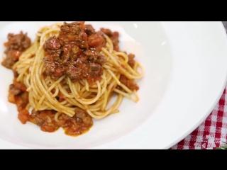 Рецепт за 90 секунд: Спагетти Болоньезе