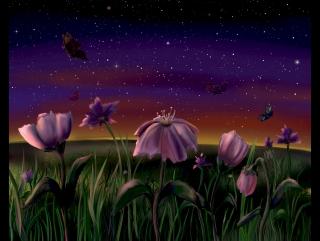 SpeedPaint - The Landscape (Paint Tool SAI & Photoshop) | Скоростное рисование - Пейзаж