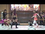 Kay Lee Ray, Toni Storm, Xia Brookside vs. Mary Apache, Natsuko Tora, Shiki Shibusawa (Stardom - 5STAR Grand Prix 2017 - Day 8)
