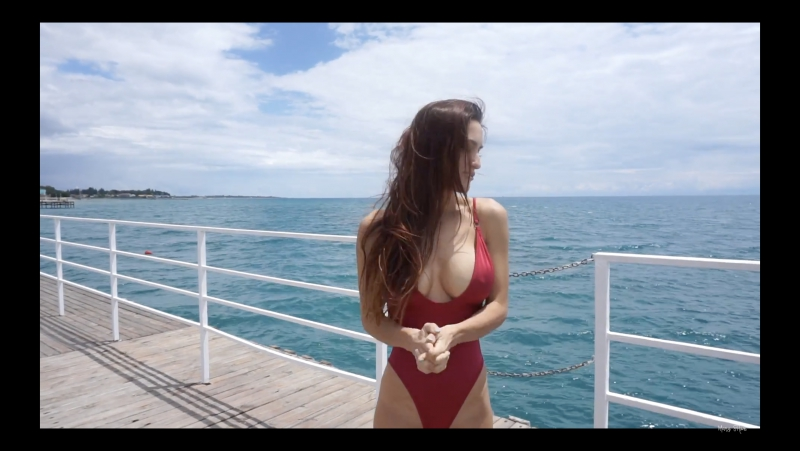 Mary Shum and Cosmos in Kyrgyzstan 2. Issyk-kul lake. Too sexy girlfriend for a family vlog