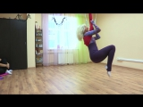 Воздушная йога в Нижнем Новгороде. Флай йога. Йога в гамаках. Аэро йога ЗДРАВА